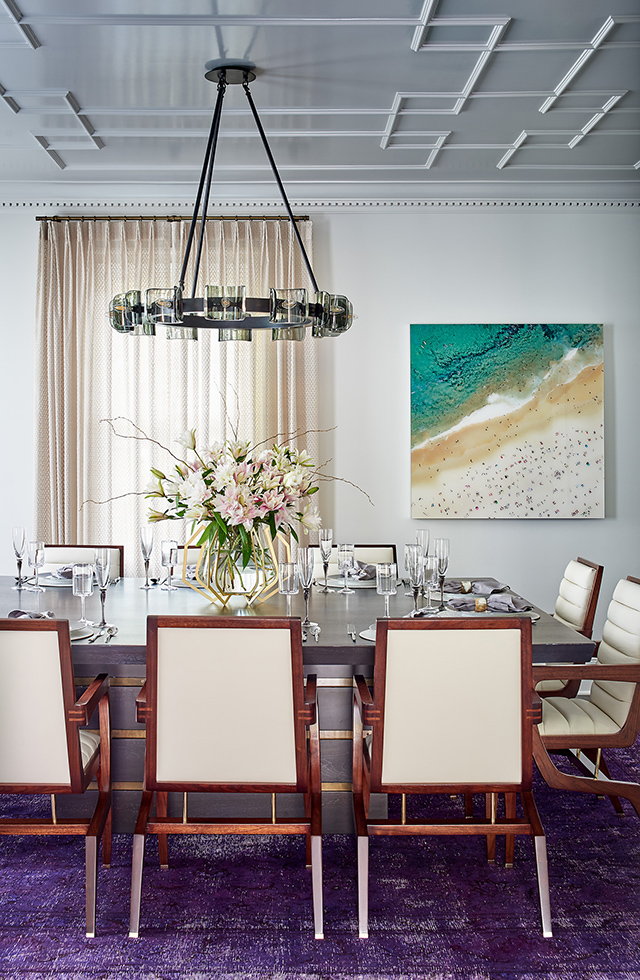 Queens Road West renovation by Bryan Gerrard formal dining