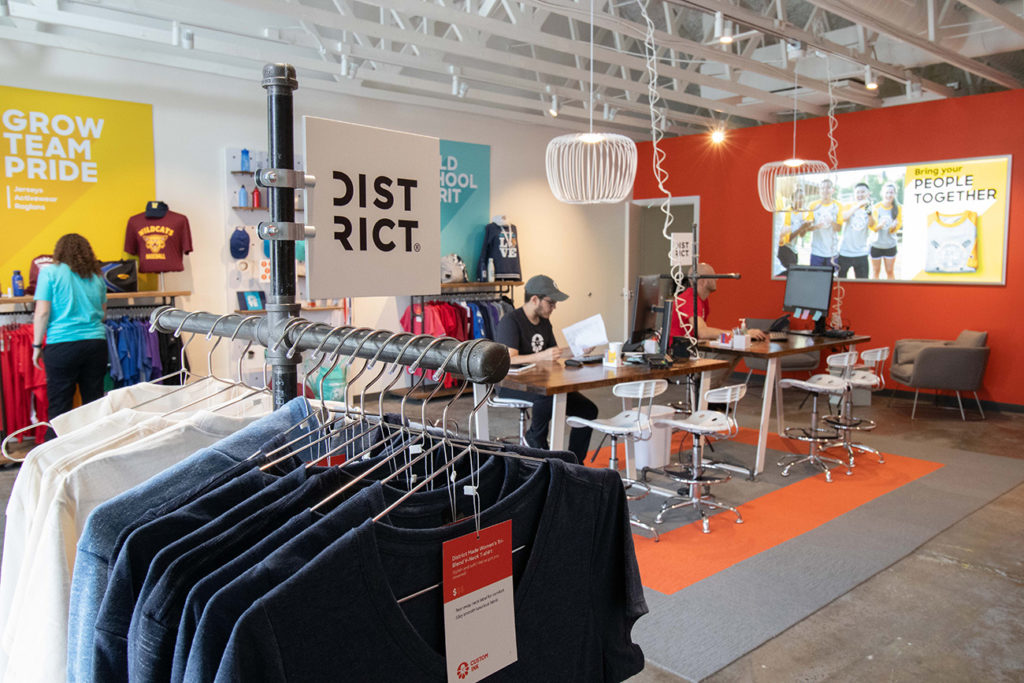 Online T-shirt printing giant opens brick and mortar store at Park Road Shopping Center