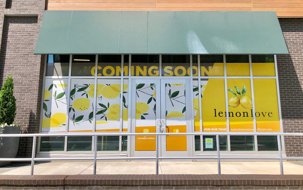 Lemon Love, an eco-luxury waterless nail spa, opening this fall in Novel Stonewall Station