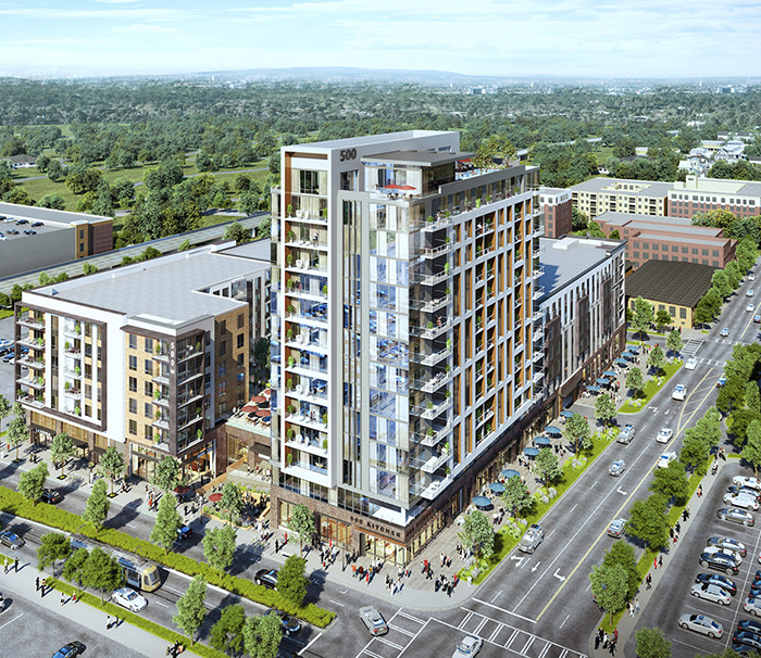 new uptown apartment 500 west trade charlotte