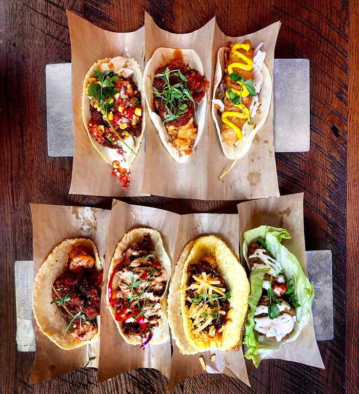 taco choices from velvet taco charlotte