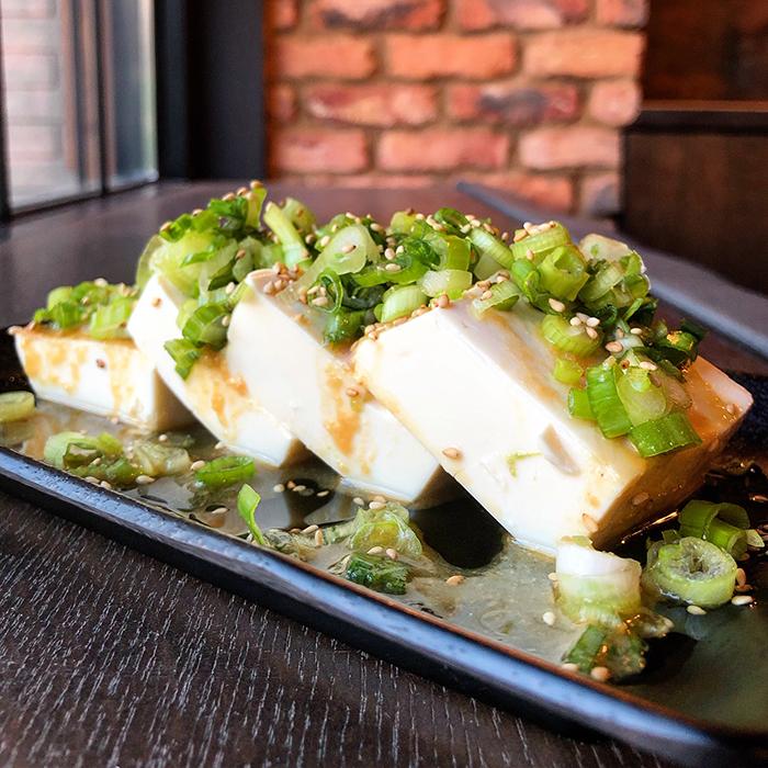 tofu at gyu kaku japanese bbq restaurant charlotte
