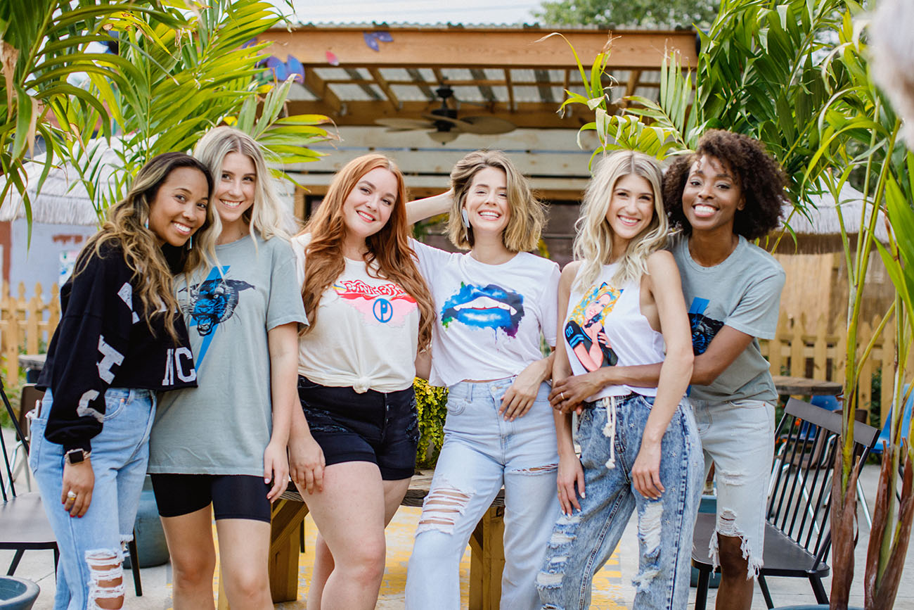 Girl Tribe's new game-day collection launches today — everyone needs the Dolly Parton tee