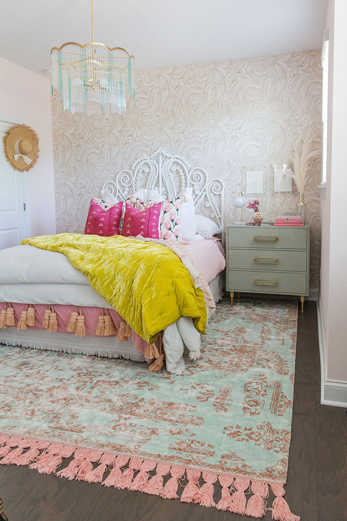 Mckenna Bleu girly wing guest room