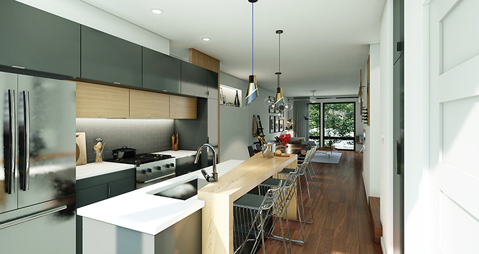 Nandina Towns at 1800 Central Avenue Modern Townhomes in Plaza Midwood
