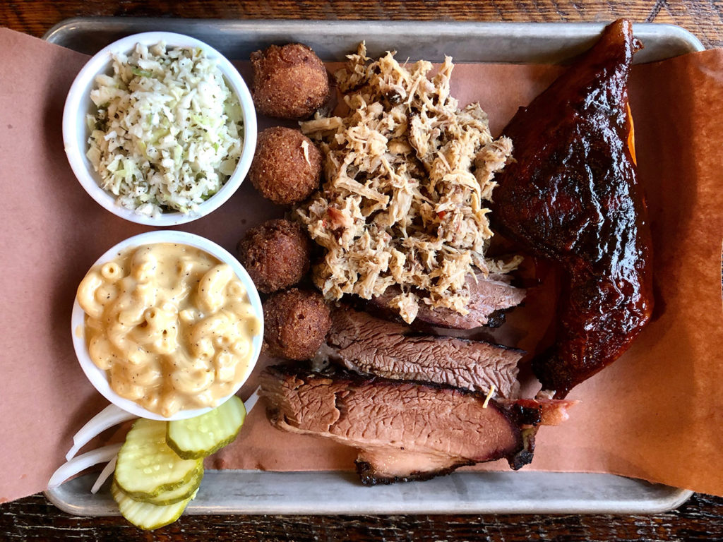Sauceman's BBQ is moving to Sugar Creek Brewing in LoSo — expect new menu items and more seating
