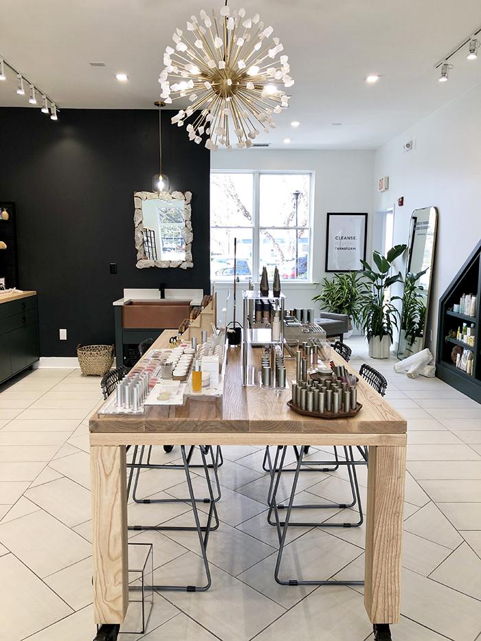 Selenite Beauty tables