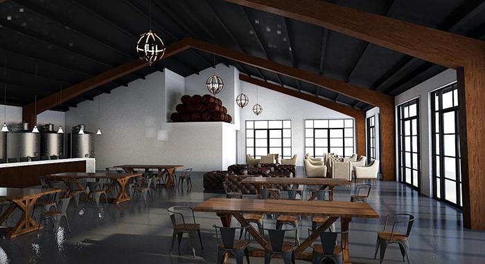 Veronét Vineyards & Winery tasting room