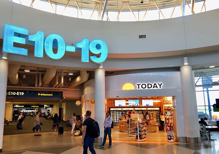 concourse e airport charlotte