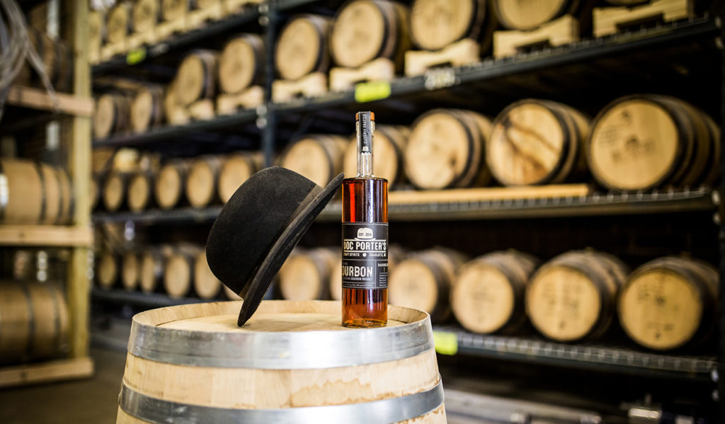 """Thanks to a new N.C. law that loosens regulations on distilleries, Doc Porter's wants to create """"a cultural hub much like the breweries"""""""