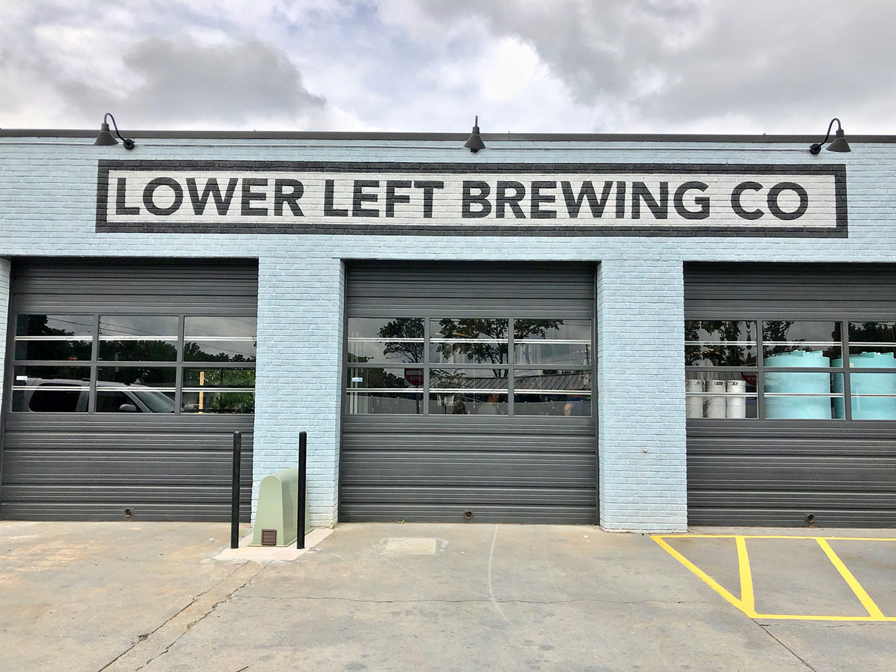 Lower Left Brewing Company is now open in an old mechanic's shop near Brewers at 4001 Yancey