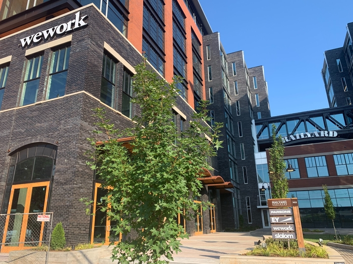 WeWork is opening at The RailYard South End in August — it'll have an outdoor terrace and private event space