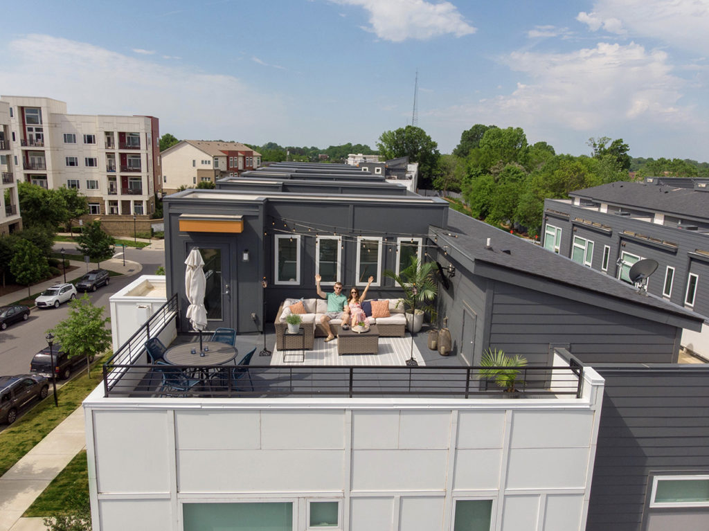South End townhouse with 320-square-foot rooftop terrace asks $629,000