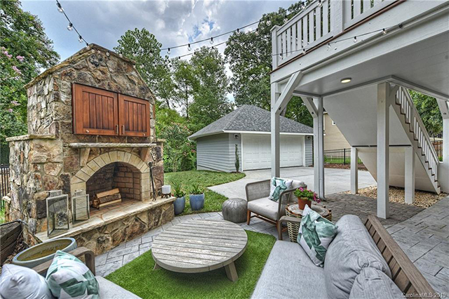 801 McDonald Ave open houses outdoor living