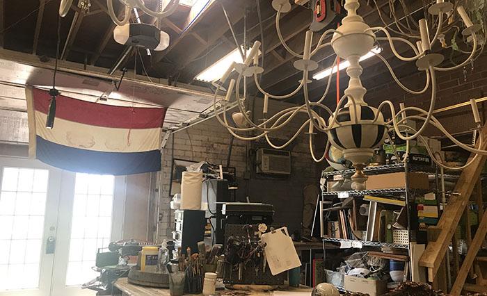 Brenda Ische's Amelie's studio in NoDa