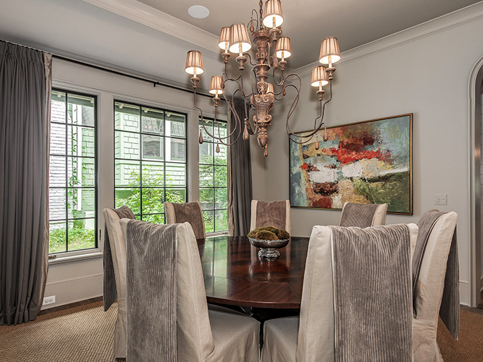 Dartmouth Place dining room
