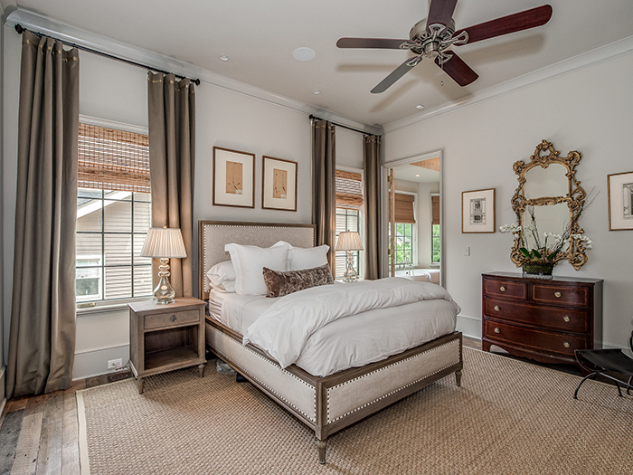 Dartmouth Place master bedroom