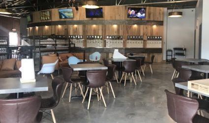 A 60-tap self-serve beer and wine bar called Free Will Craft & Vine is now open in NoDa