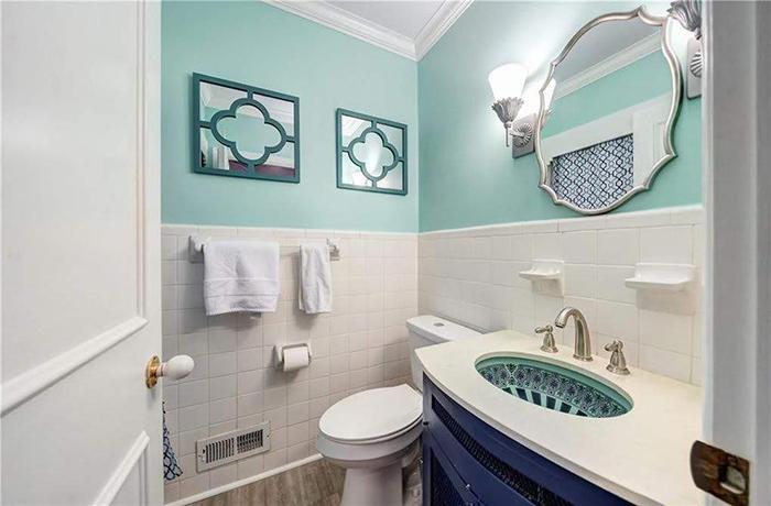 Hickory mediterranean renovation bathroom
