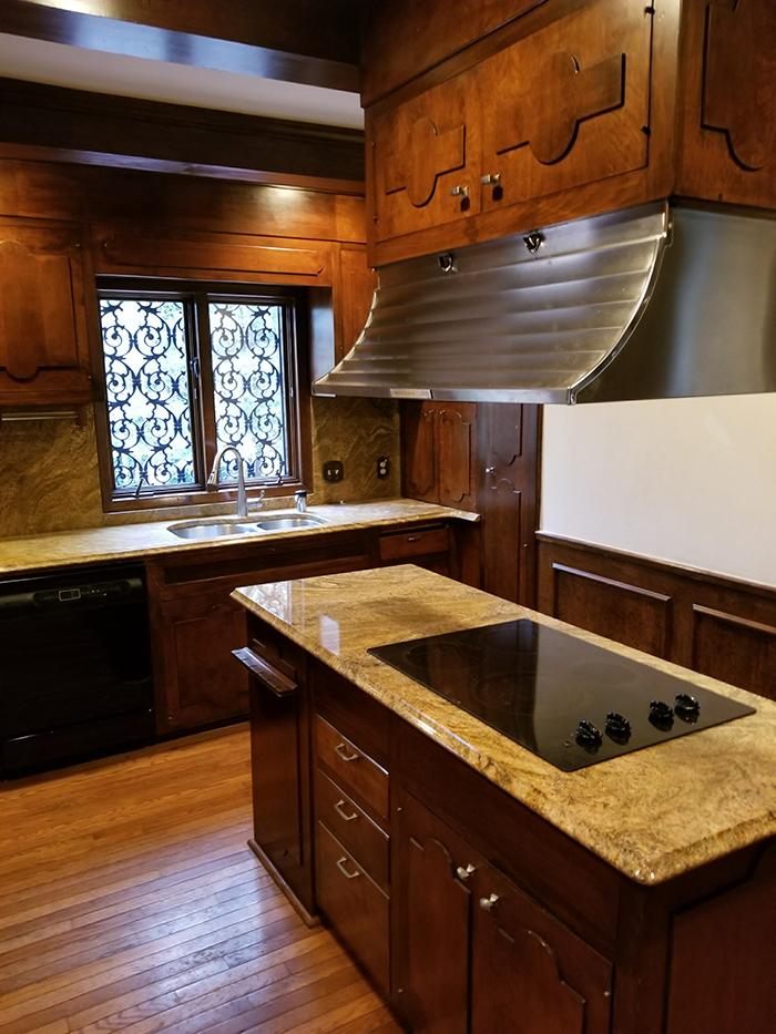 Hickory mediterranean renovation before kitchen 1