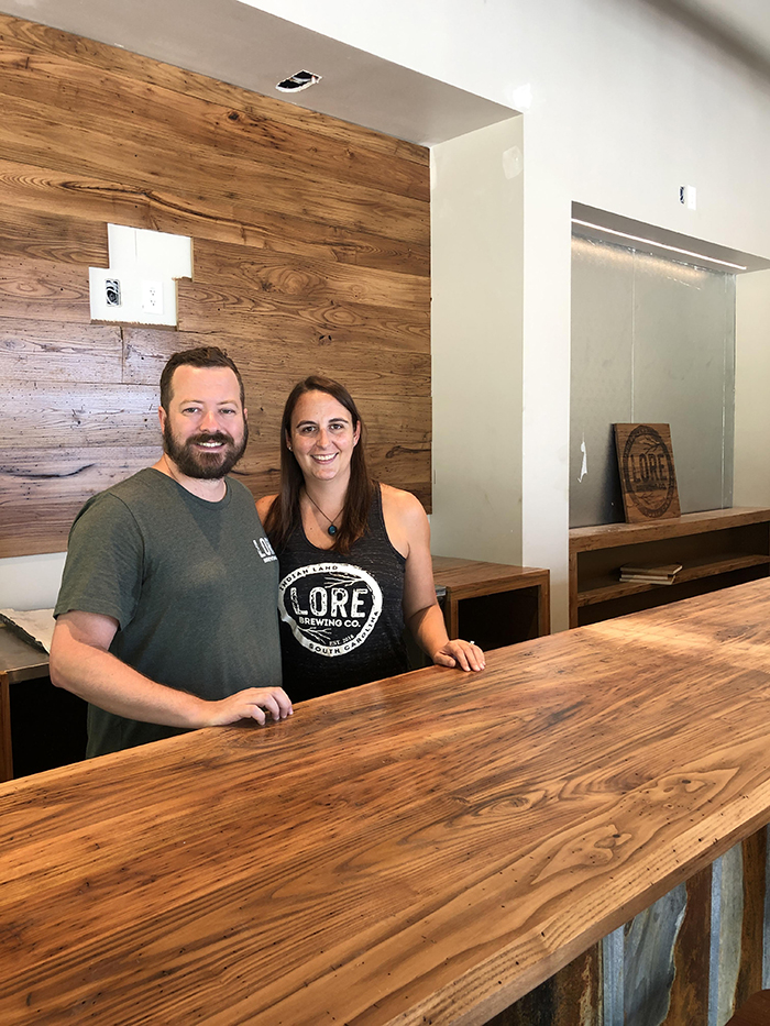 Lore Brewing Company Indian Land owners