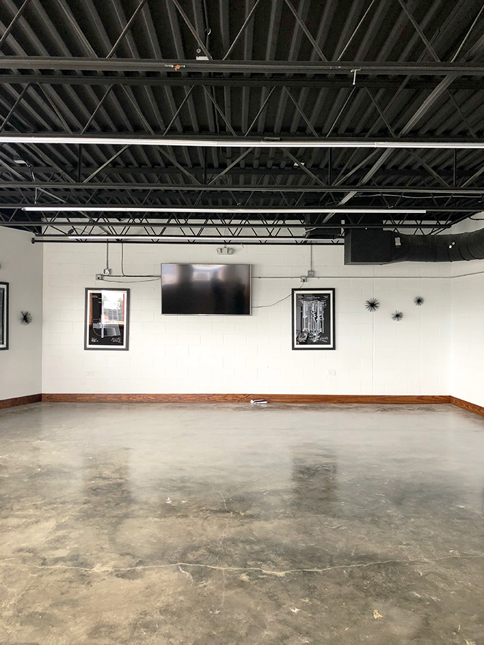 Middle James Brewing event space