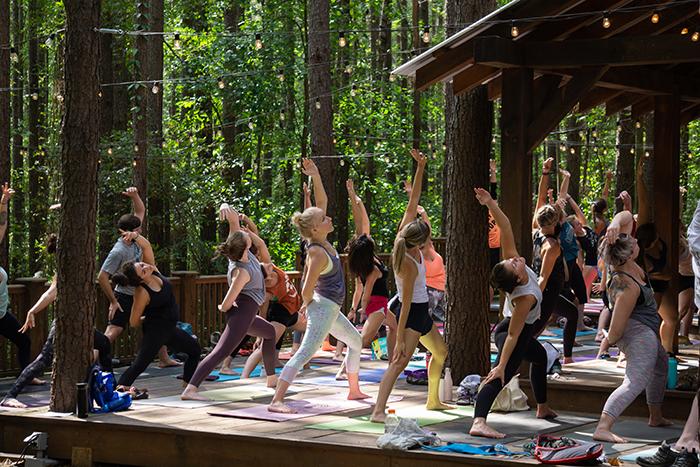 USNWC Flow Fest yoga