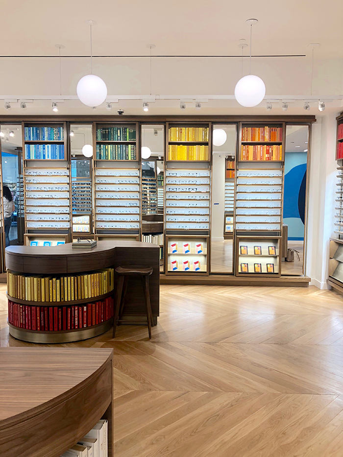 Warby Parker SouthPark display