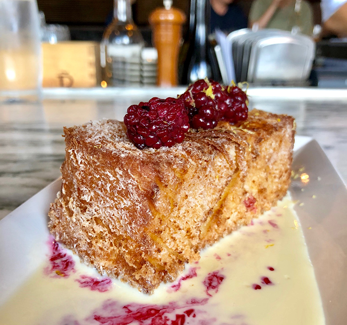 cake at barcelona wine bar charlotte