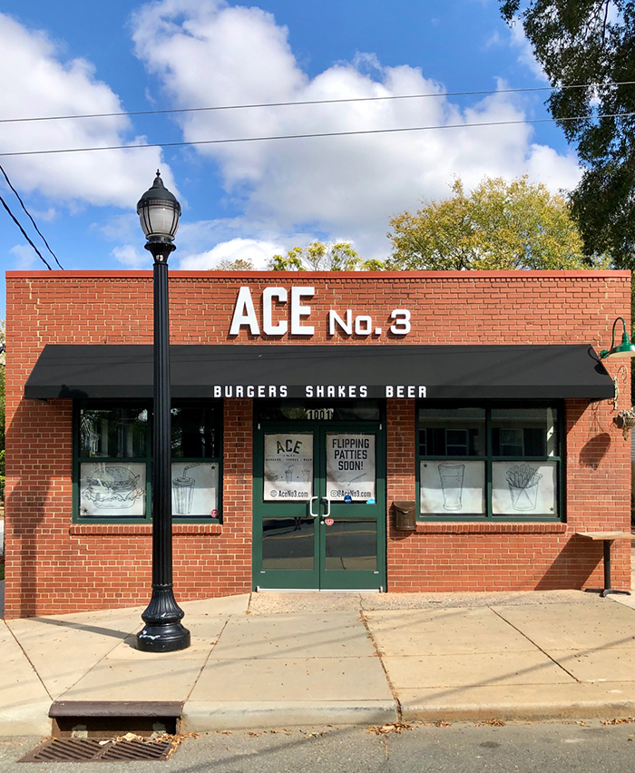 location ace no 3 burger charlotte
