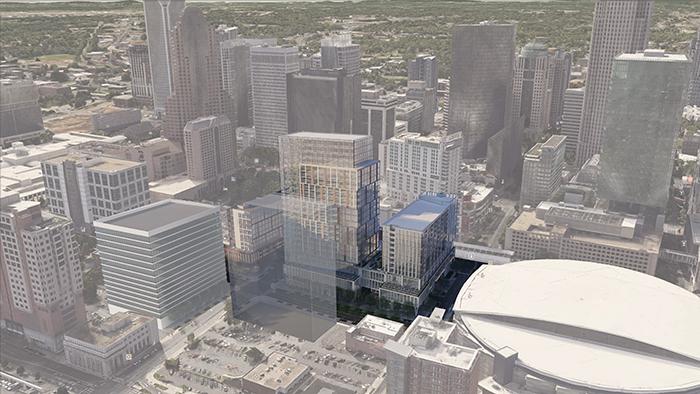 new uptown bus center rendering