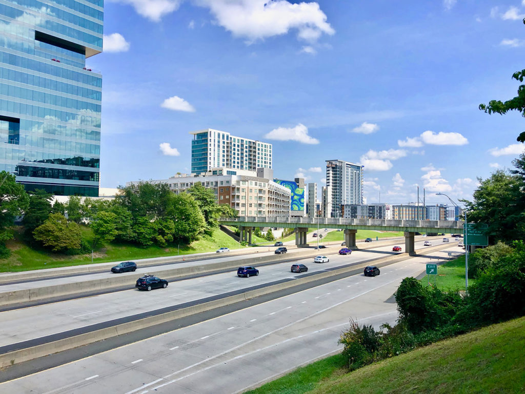 Charlotte is (finally) moving ahead with work on a pedestrian bridge connecting South End with Uptown
