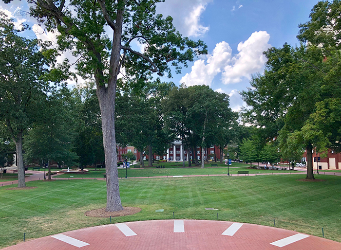 queens university campus in charlotte