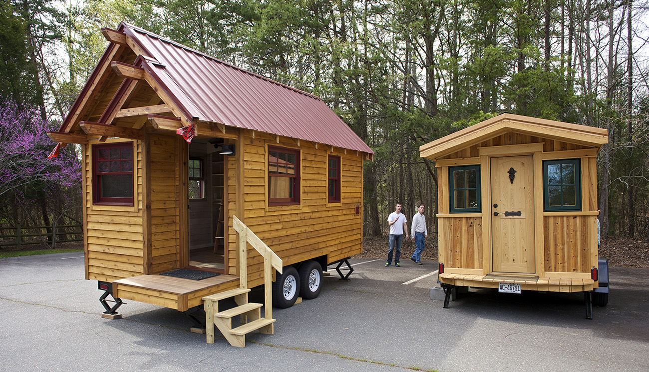 35-year-old saves $100,000 in 7 years by living inside tiny house