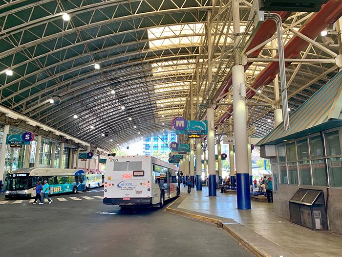 uptown bus center