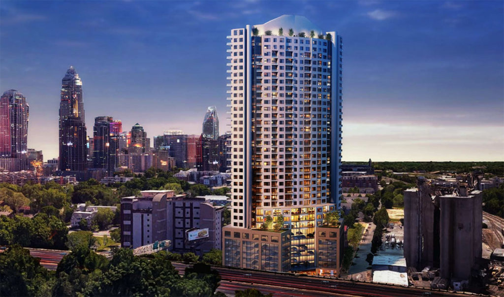 37-story tower could become Uptown's first condo project since the recession