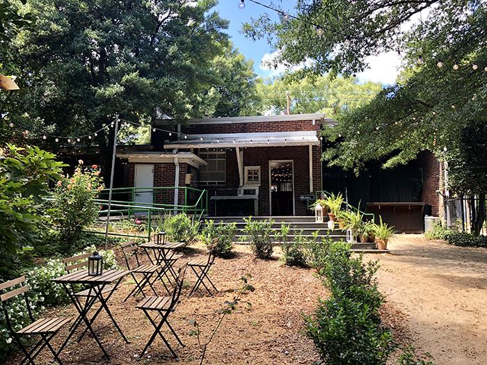 Rosie's Wine Garden back