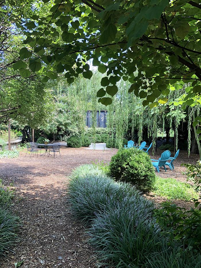 Rosie's Wine Garden garden scenes seating