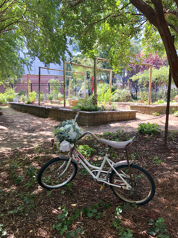 Rosie's Wine Garden garden scenes