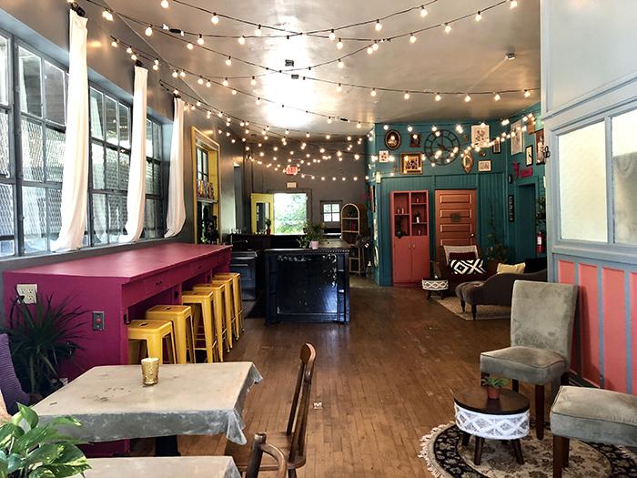 Rosie's Wine Garden interior