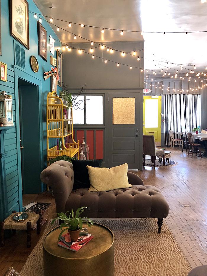 Rosie's Wine Garden seating lounge