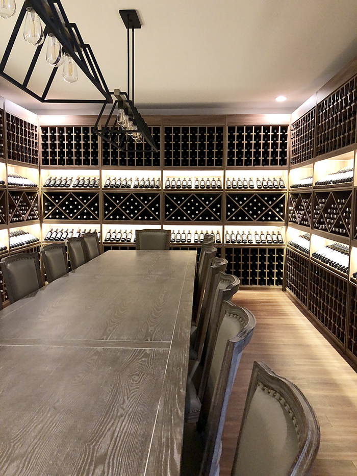 Veronet Vineyards and Winery private tasting room