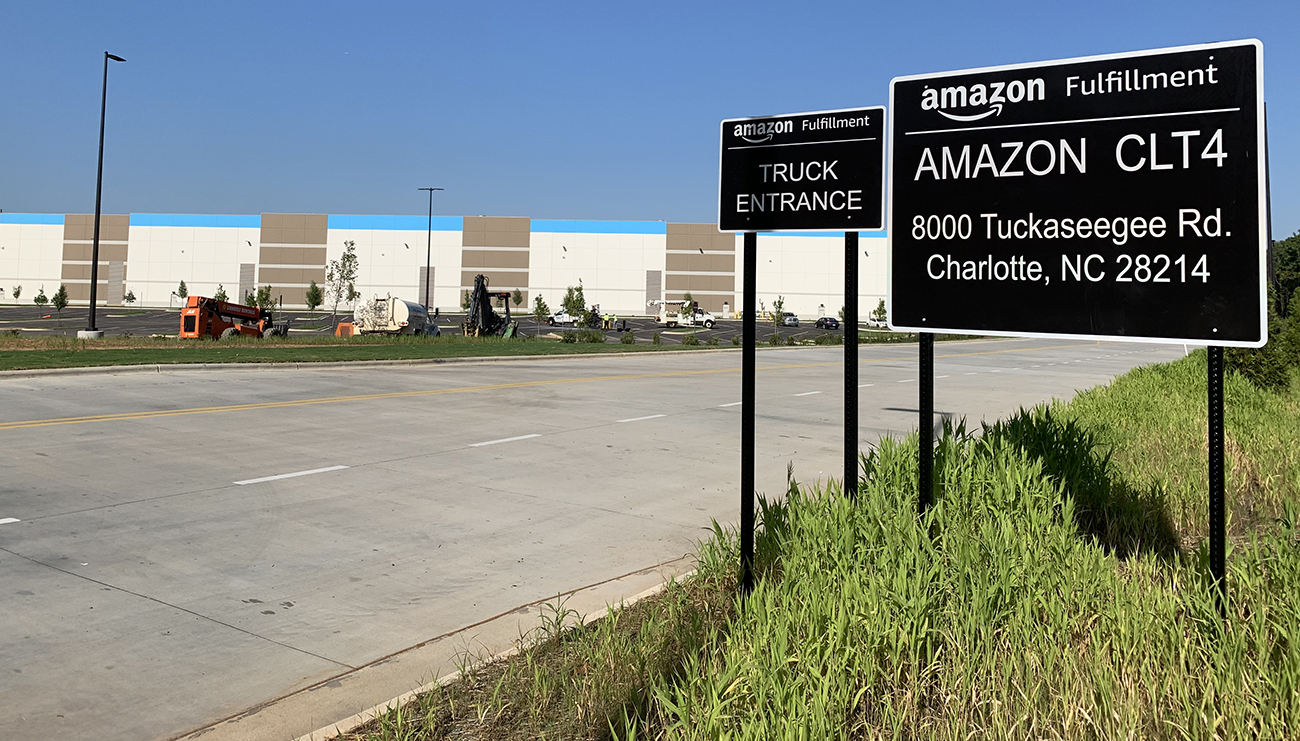 Amazon's new Charlotte robotics facility will hire hundreds and speed up local deliveries