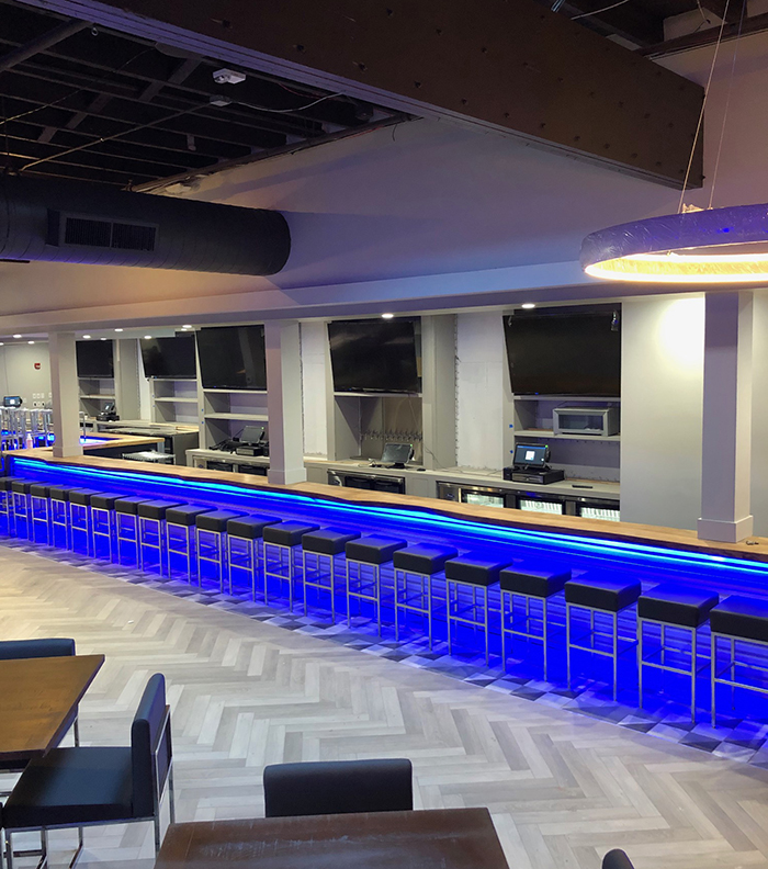 bar at topgolf uptown charlotte