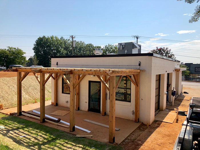 construction bossy beulahs chicken shack