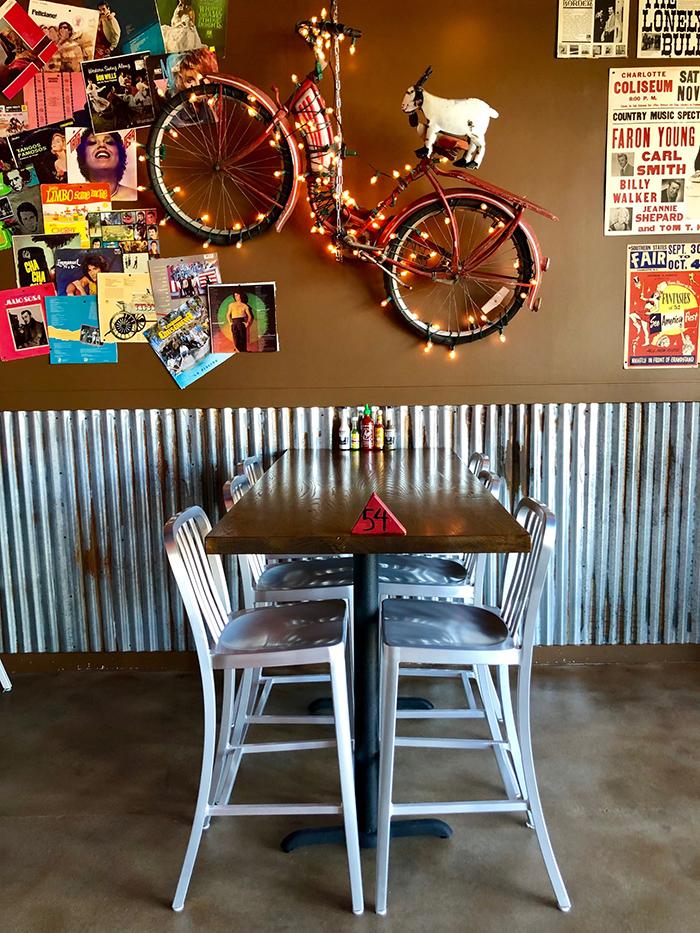 seating at taco mama charlotte