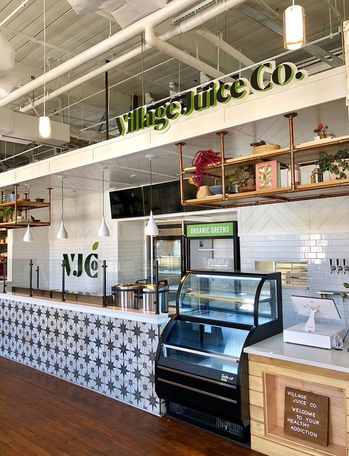 village juice co in optimist hall charlotte