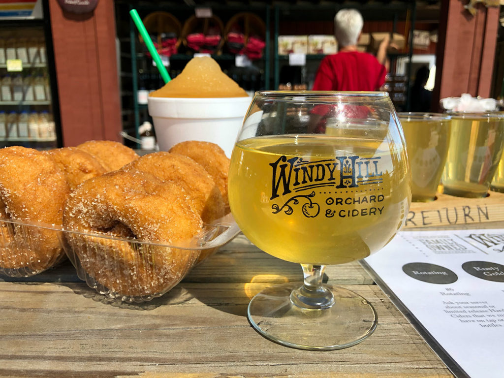 Windy Hill Orchard & Cider Mill is open for the season — less than 1 hour from Charlotte