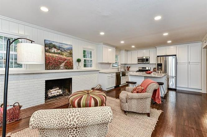2132 Wensley Drive kitchen and family room