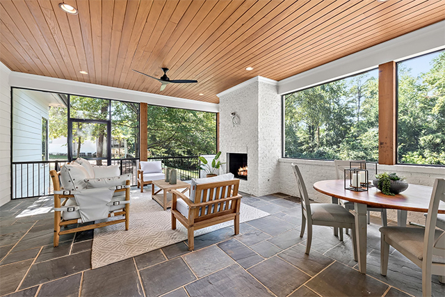 4028 Churchill Road patio